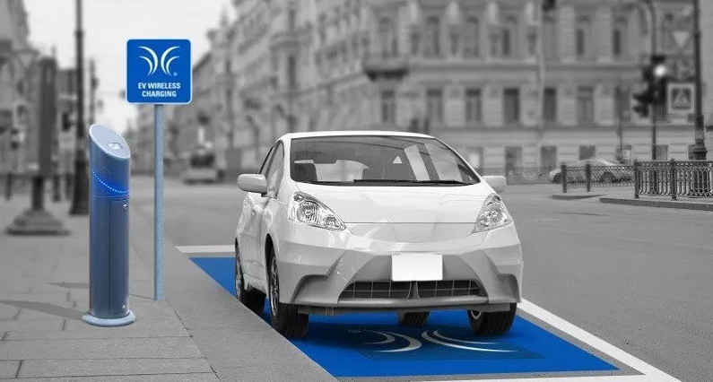 World's First Wireless Electric Car Charging Station