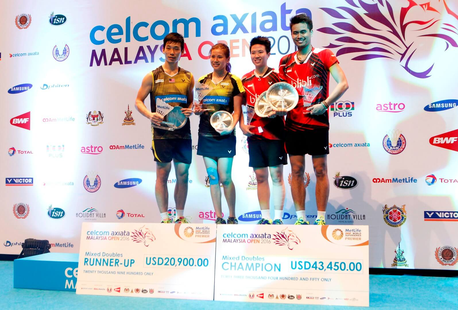 Malaysia Open 2019 Concludes: Complete List of Winners