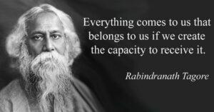 158th Birth Anniversary of Rabindranath Tagore Observed