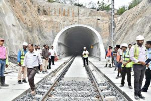 Longest electrified railway tunnel in India commissioned_50.1