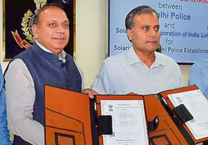 Delhi Police signs pact with SECI for rooftop solar energy systems_50.1