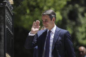 Kyriakos Mitsotakis becomes Greece's new PM_50.1