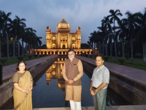 Culture Minister inaugurates architectural illumination of Safdarjung Tomb_50.1