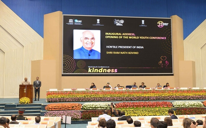 President Kovind inaugurates the First World Youth Conference_50.1