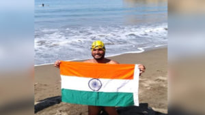 Para swimmer Satendra Singh Lohia crosses America's Catalina Channel_50.1