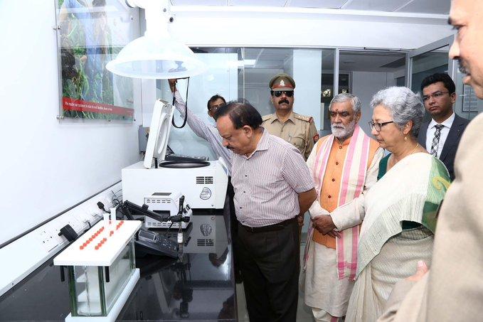 Harsh Vardhan inaugurates FSSAI's National Food Laboratory_50.1