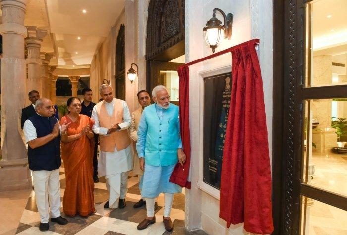 PM Modi inaugurates Garvi Gujarat Bhavan in New Delhi_50.1