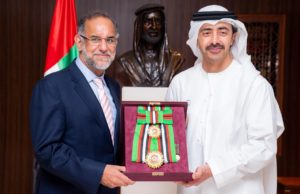 Navdeep Singh Suri honoured with First Class Order of Zayed II_50.1