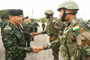Indo-Thailand joint military exercise Maitree 2019_50.1