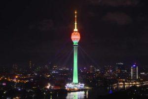 Sri Lanka unveils South Asia's tallest tower_50.1