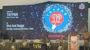 Delhi Police's launches Tatpar app for citizen-centric services_50.1