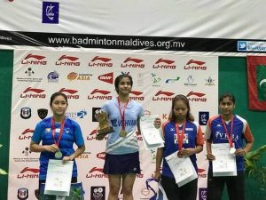 Malvika Bansod wins the Maldives International Future Series_50.1