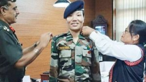 Ponung Doming becomes Arunachal's first woman Lieutenant Colonel_50.1