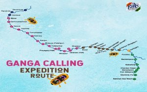 """GoI launches """"Ganga Aamantran: Open Water Rafting Expedition""""_50.1"""