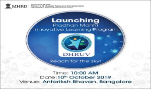 """""""DHRUV"""" a Learning Programme launched from ISRO, Bengaluru_50.1"""