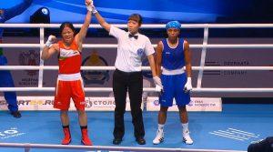 M C Mary Kom wins bronze in World Women's Boxing Championships_50.1