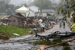 Typhoon Hagibis hits northern Japan_50.1