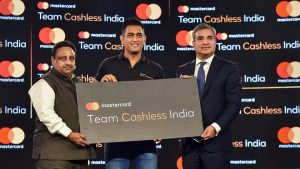 Mastercard and MS Dhoni partner to build 'Team Cashless India'_50.1