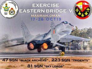 India-Oman begin joint training exercise 'EX EASTERN BRIDGE-V'_50.1