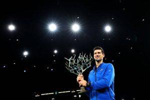Novak Djokovic won the Paris Masters 2019 title_50.1