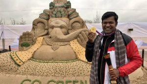 Sudarsan Pattnaik selected for Italian Golden Sand Art Award_50.1