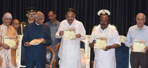 Vice President releases monograph of 'Musical Excellence of Mridangam' in Chennai_50.1