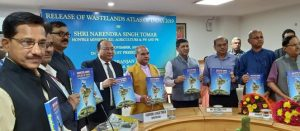 Agriculture Minister releases 5th edition of Wastelands Atlas 2019_50.1