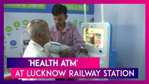 Lucknow railway station gets 'Health ATM'_50.1
