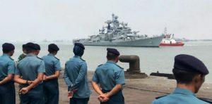 Indian Navy, Indonesian Navy bilateral maritime exercise 'Samudra Shakti_50.1