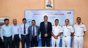 GRSE delivers ICGS 'Amrit Kaur to Indian Coast Guard_50.1