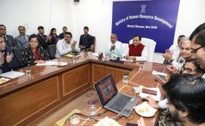 HRD Ministry launches Kartavya Portal_50.1