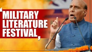 Rajnath to inaugurate 3rd edition of Military Literature Festival_50.1