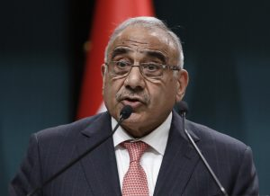 Iraq Prime Minister Adel Abdul Mahdi Resigns_50.1