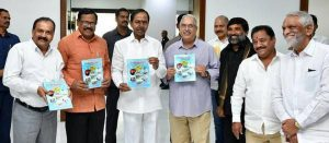 Telangana CM releases book on Kaleswaram project_50.1