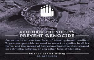 International Day of Commemoration and Dignity of the Victims of the Crime of Genocide and of the Prevention of this Crime: 9 December_50.1