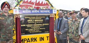 Multi Cell Box Type Load Class 70 bridge inaugurated in Rajouri_50.1