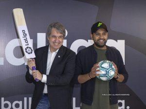 Rohit Sharma becomes brand ambassador of La Liga in India_50.1