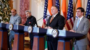 India and US sign defence tech transfer pact during 2+2 dialogue_50.1