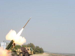 Upgraded version of Pinaka Rocket successfully test-fired off Odisha coast_50.1