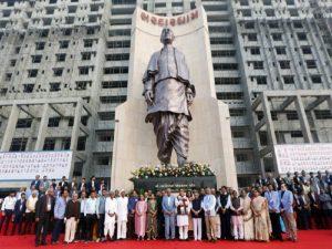 Gujarat CM unveils world's 2nd tallest statue of Sardar Vallabhbhai Patel_50.1