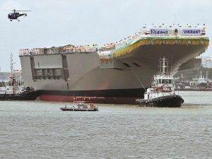 India's 1st indigenous aircraft carrier Vikrant to be commissioned by 2021_50.1