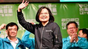 Tsai Ing-wen wins Taiwan presidential election_50.1
