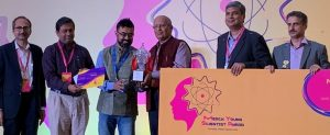 "Indian scientist Sakya Singha Sen awarded ""Merck Young Scientist Award 2019_50.1"