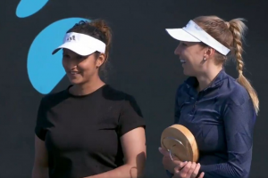 Sania Mirza and Nadiia Kichenok wins WTA doubles title in Australia_50.1