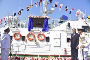 ICG commissions interceptor boat C-448 in Mangaluru_50.1