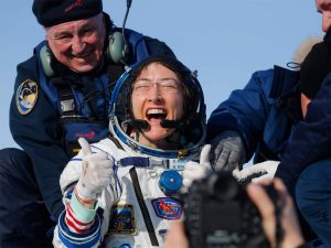 Astronaut Christina Koch returns to Earth after record stay in space_50.1