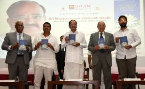 Vice President releases the book 'A Child of Destiny'_50.1