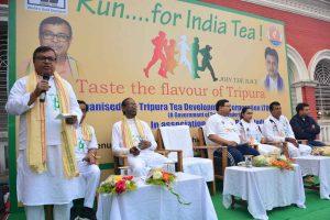 'Run for India Tea' event organized by Tripura Tea Board_50.1