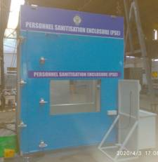 DRDO develops sanitisation enclosures & face shields_50.1