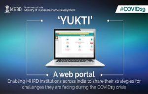 Ministry of HRD starts web portal 'YUKTI'_50.1